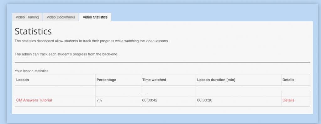 VideoLessons-StatisticsFE